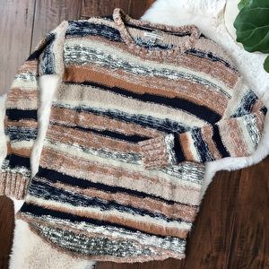ae | cozy striped sweater
